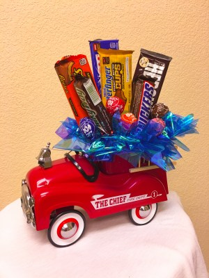Fire-Truck-Candy-Arrangment-Cheyenne-Wyoming